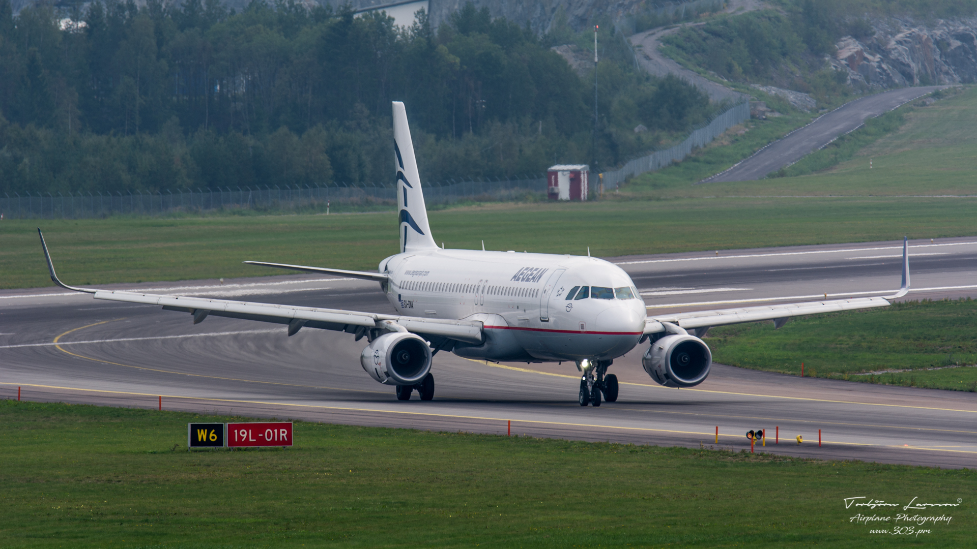 Airbus A320-232(SL) - Aegean Airlines - SX-DNA - TBE_2307