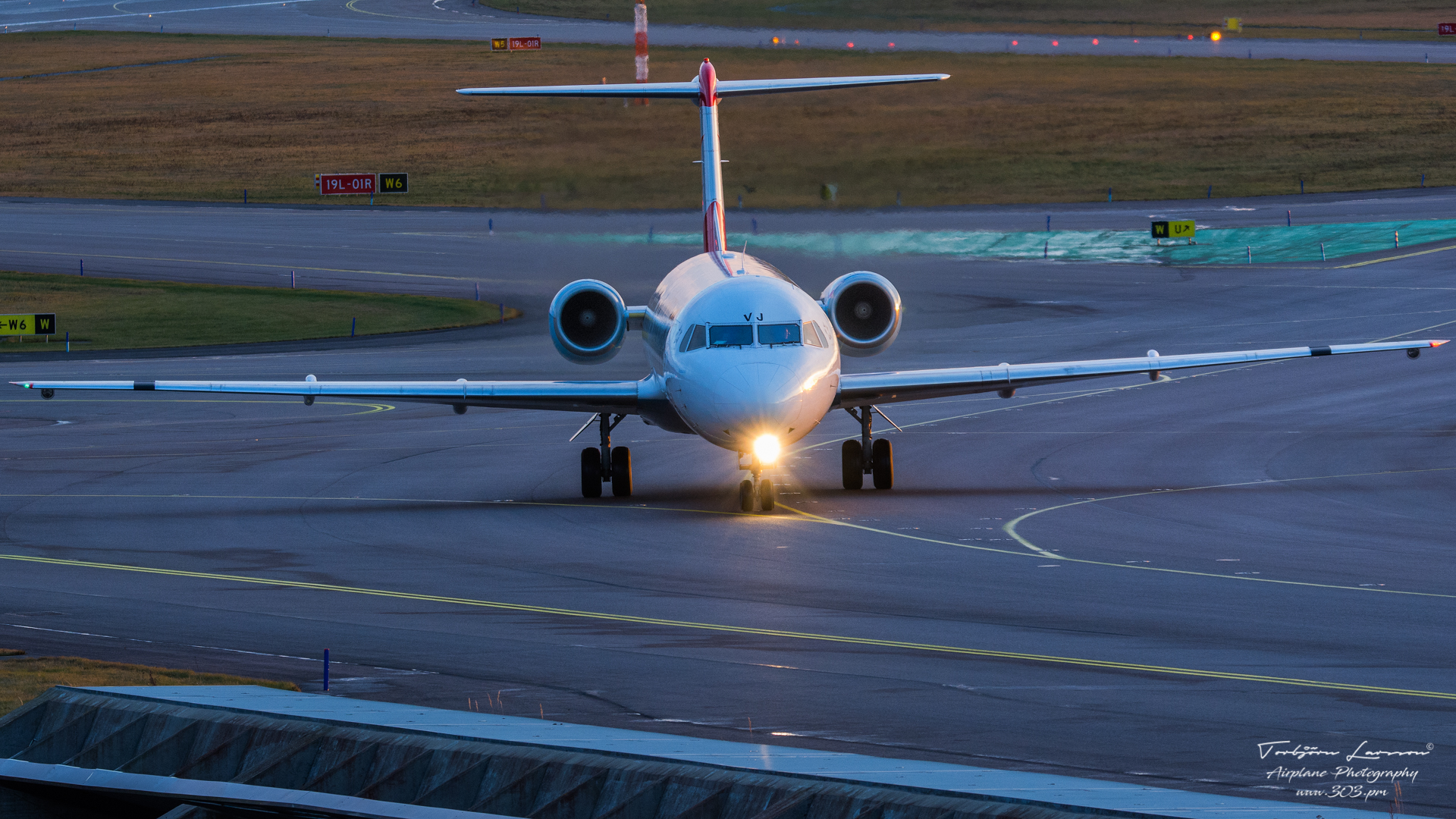 DSC_0097-Fokker100 - Austrian