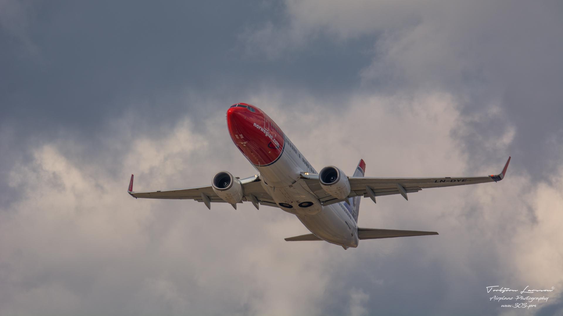 DSC_1389-Norwegian LN-DYE - Boeing 738