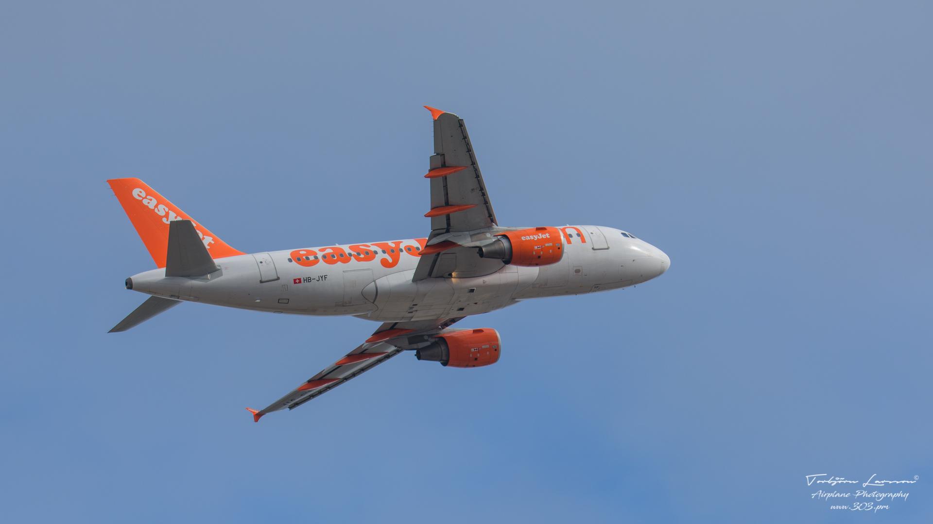 DSC_1551-EasyJet HB-JYF - Airbus A319-111 (HB-JYF)