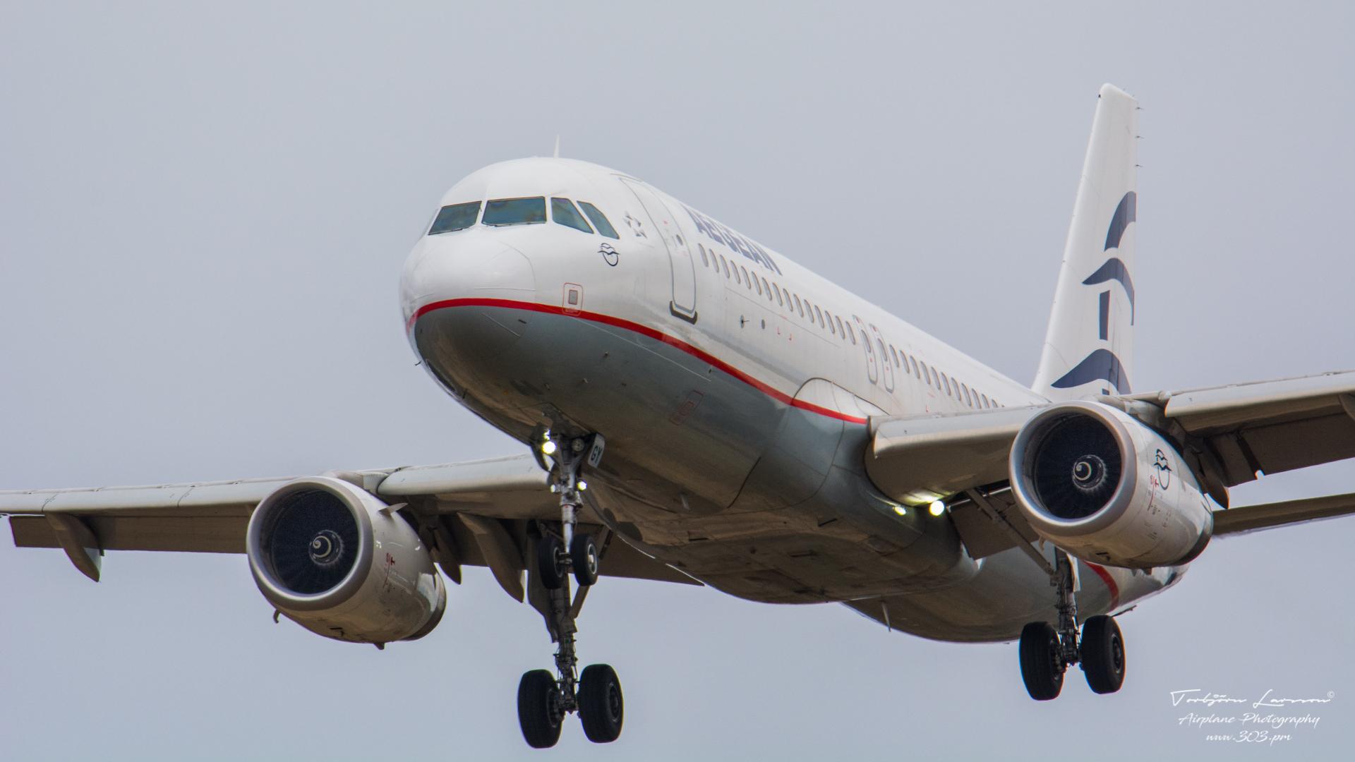 TBE_6694-Airbus A320-232(SL) - Aegean Airlines (SX-DGY)