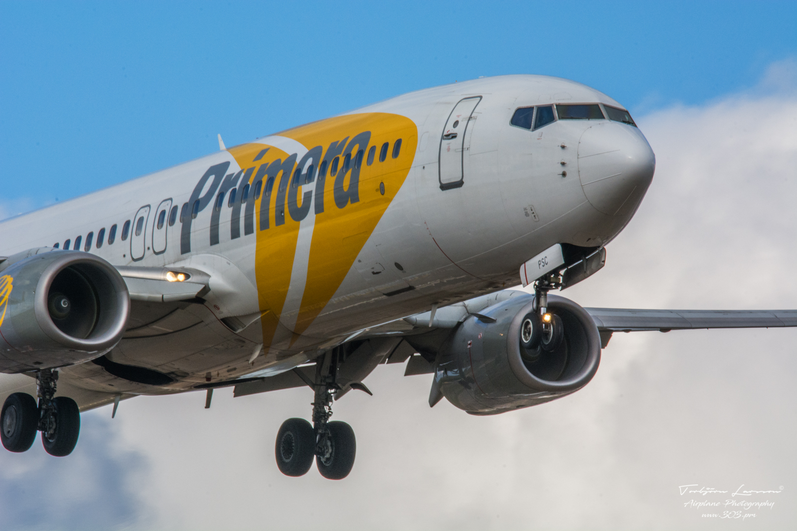 TBE_6997-Boeing 737-86N - Primera (YL-PSC)