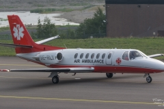 Cessna 560 - Air Ambulance - SE-RLT - TBE_2470