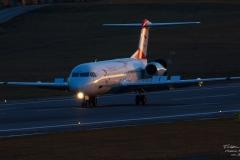 DSC_0091-Fokker100 - Austrian