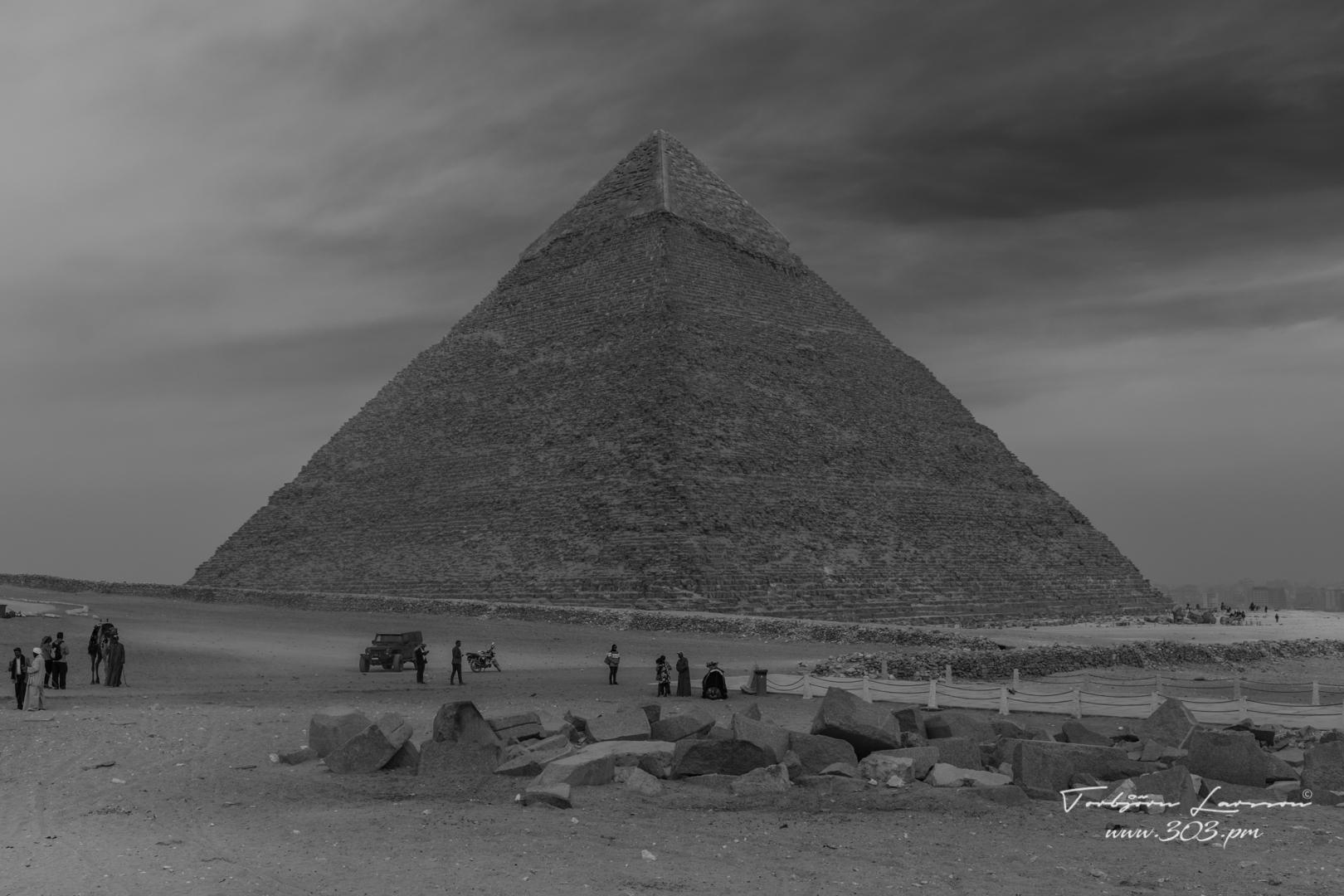 Chefrens pyramid Giza