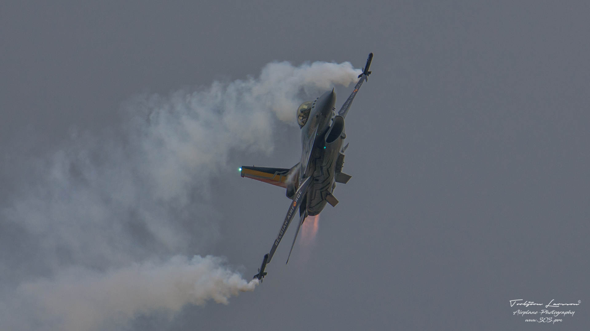 General Dynamics F-16 Fighting Falcon - Belgian Air Force