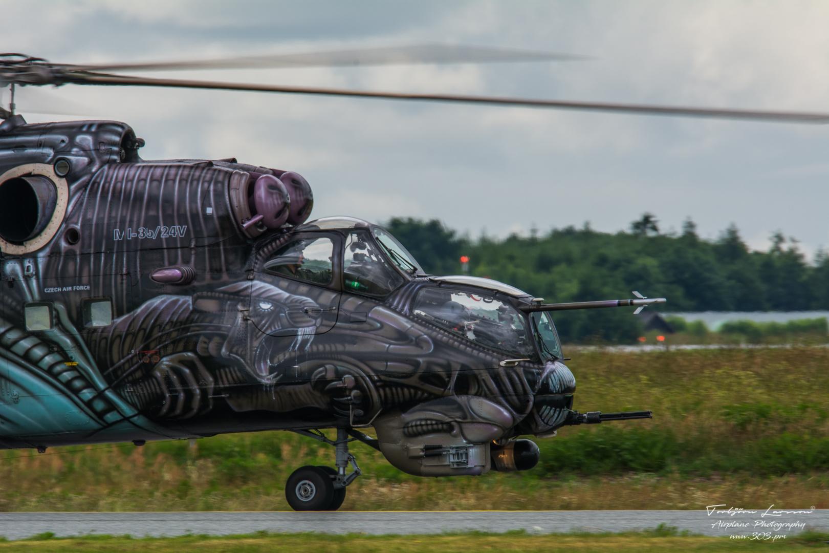 MI-35 HIND - Czech Air Force