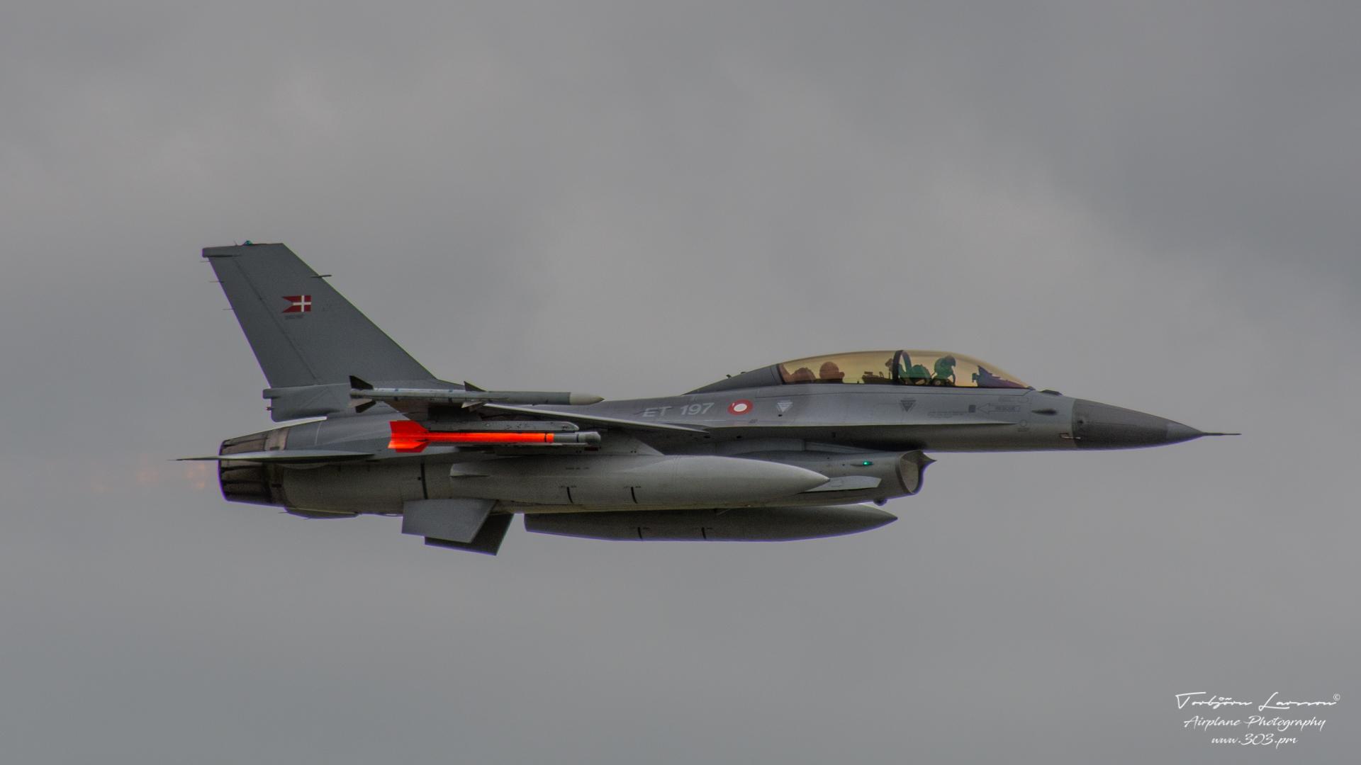 General Dynamics F-16 Fighting Falcon - Danish Air Force