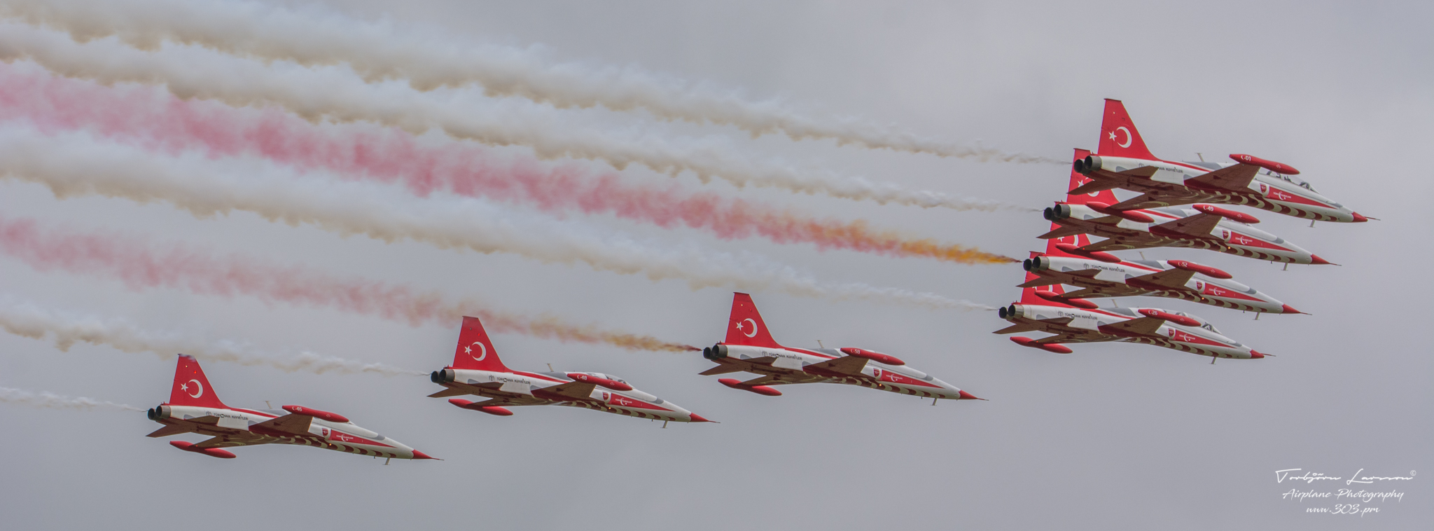 NF-5A Freedom fighter - Turkish Stars