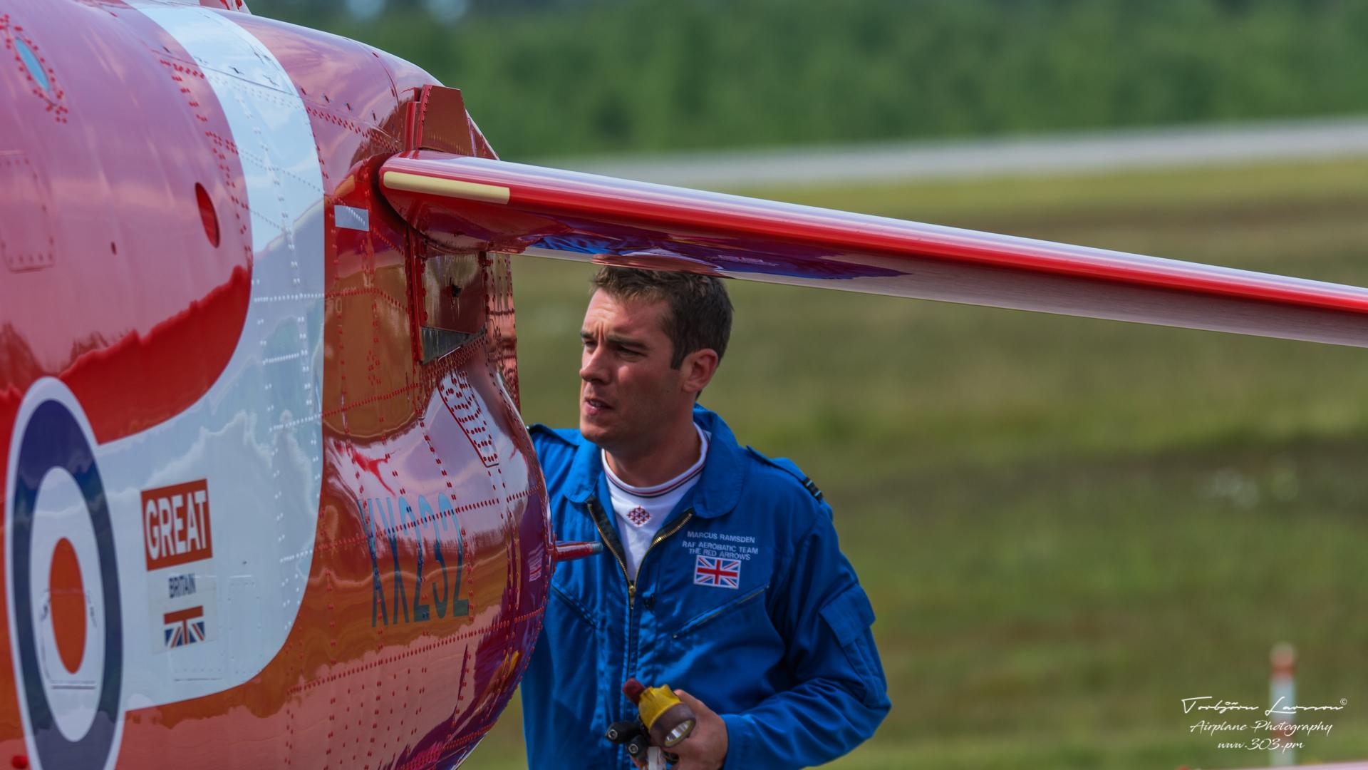 Hawk T1A - Red Arrows