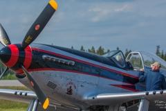 North Amercian P-51D Mustang
