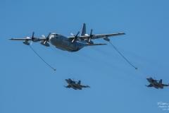 Lockheed C-130 Hercules & Jas 39 Gripen