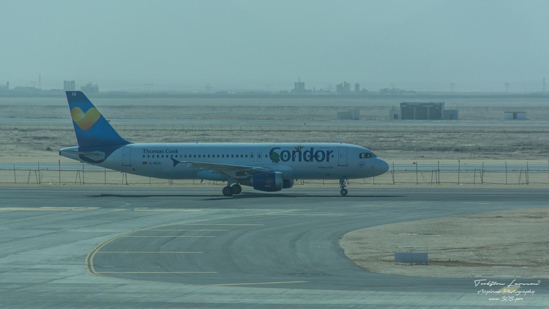 TBE_6136-Airbus A320-212 - Condor Flugdienst (D-AICG)