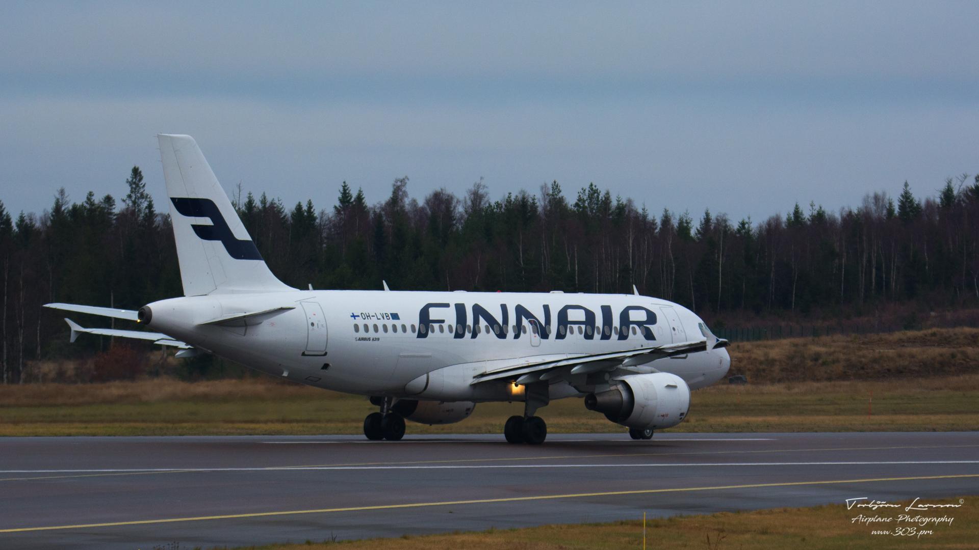 Airbus A319-112 (OH-LVB) - Finnair - TBE_3344