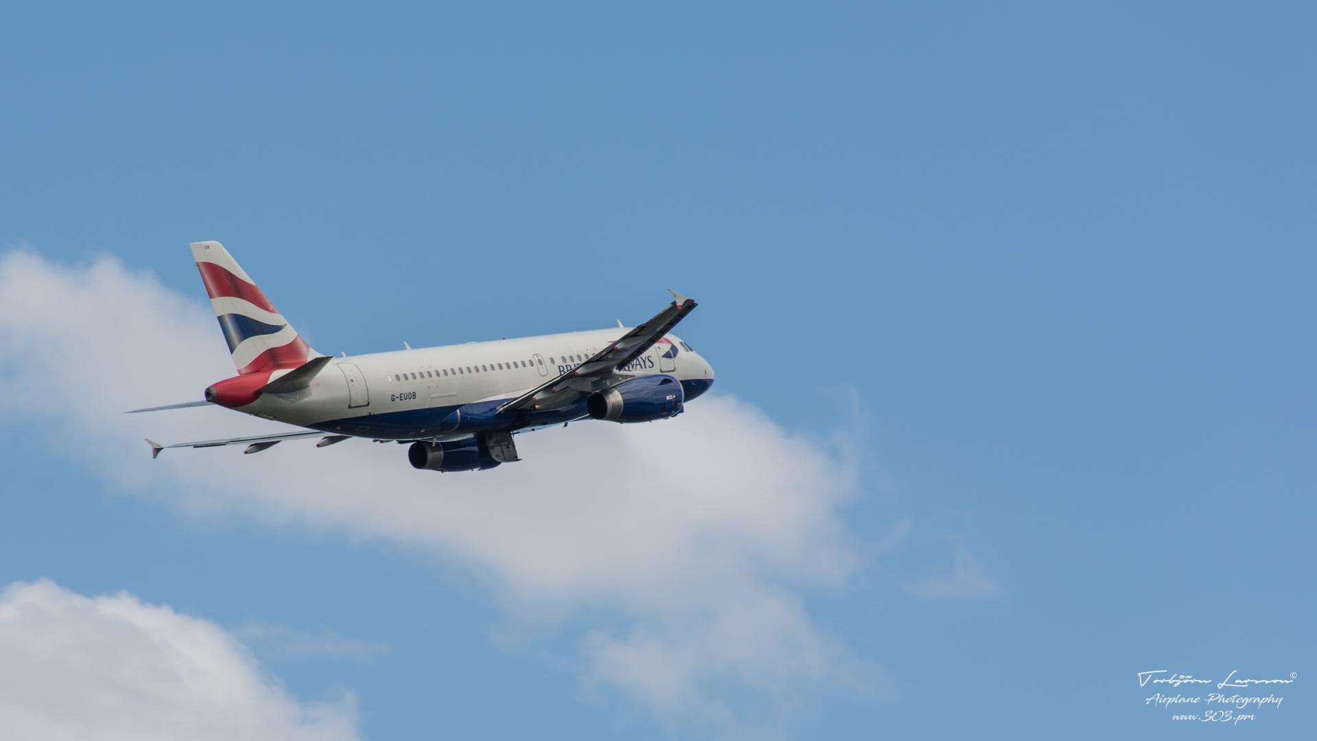 TBE_8104-Airbus A319-131 - British Airways - (G-EUOB)