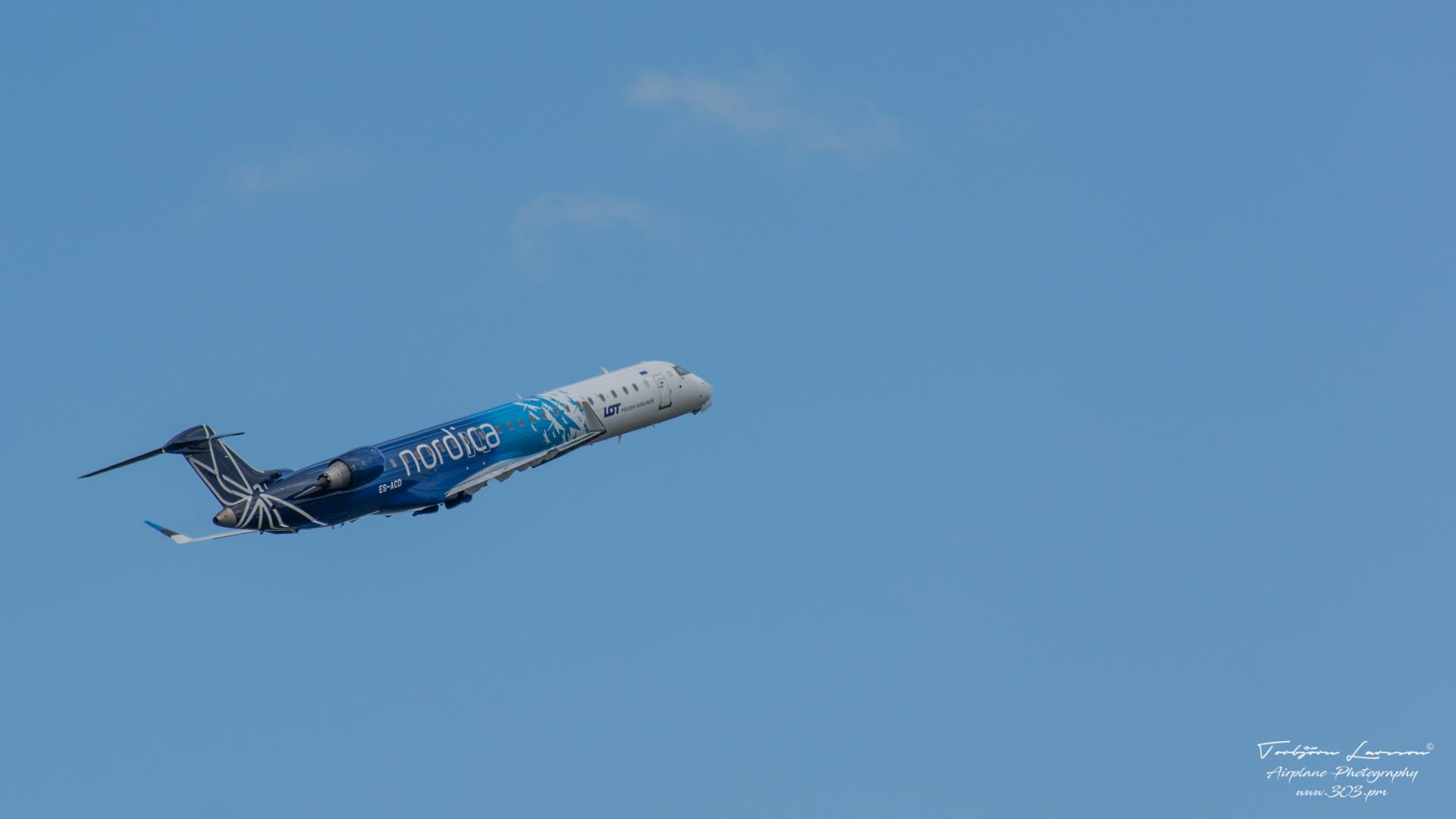 TBE_8177-Canadair Regional-Jet-900 - LOT Polish Airlines - (ES-ACD)