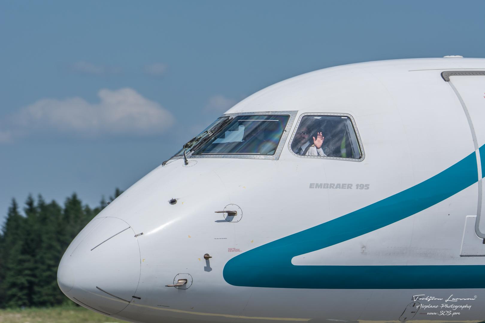 TBE_8248-Embraer Emb-195-200LR - Air Dolomiti - (I-ADJP)