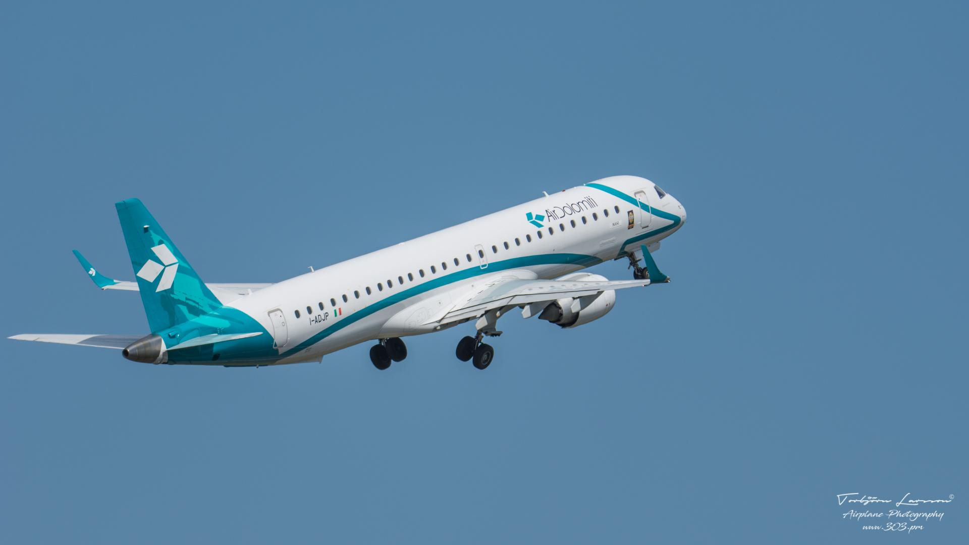 TBE_8306-Embraer Emb-195-200LR - Air Dolomiti - (I-ADJP)