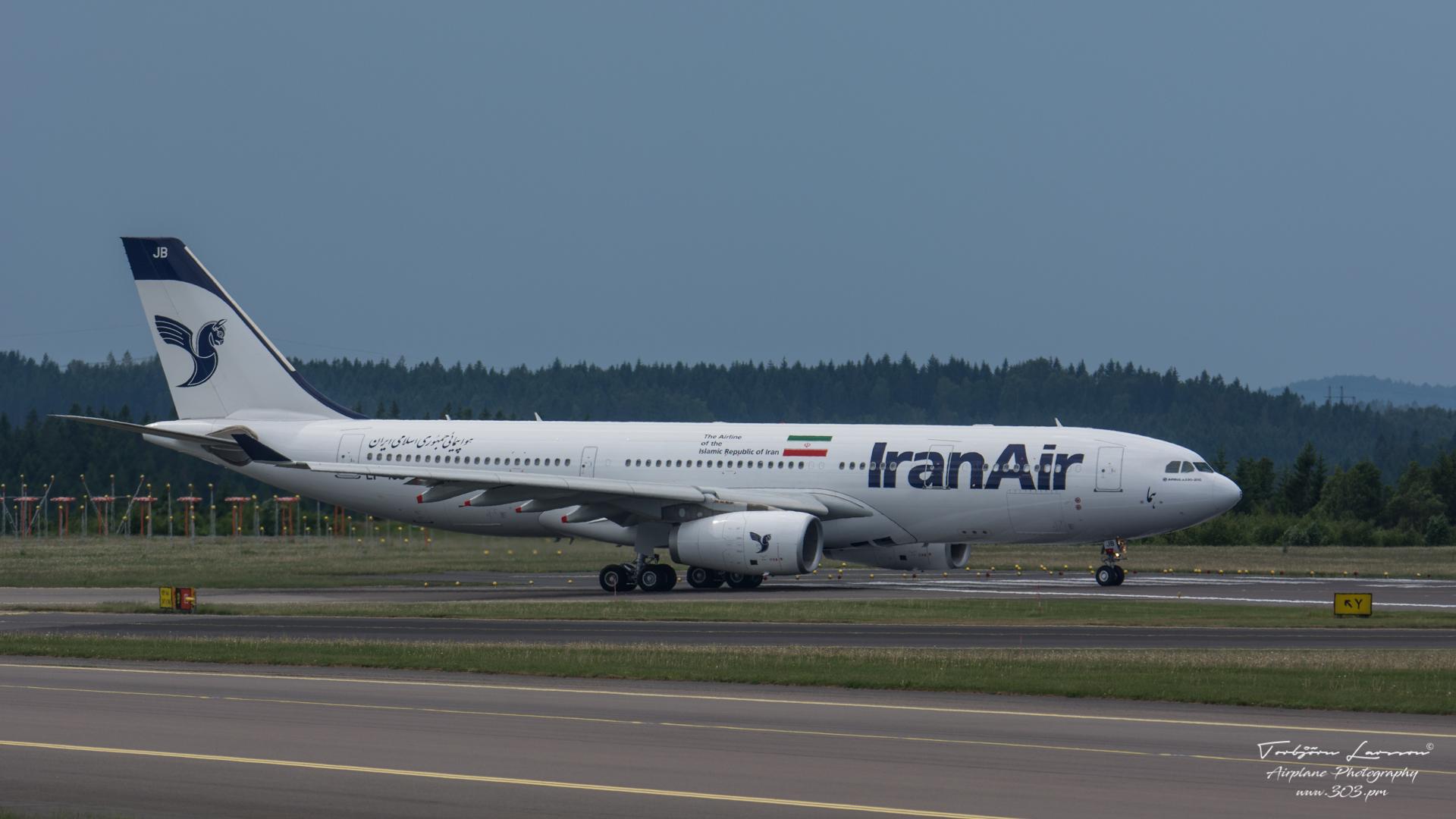 TBE_8608-Airbus A330-243 - Iran Air - (EP-IJB)