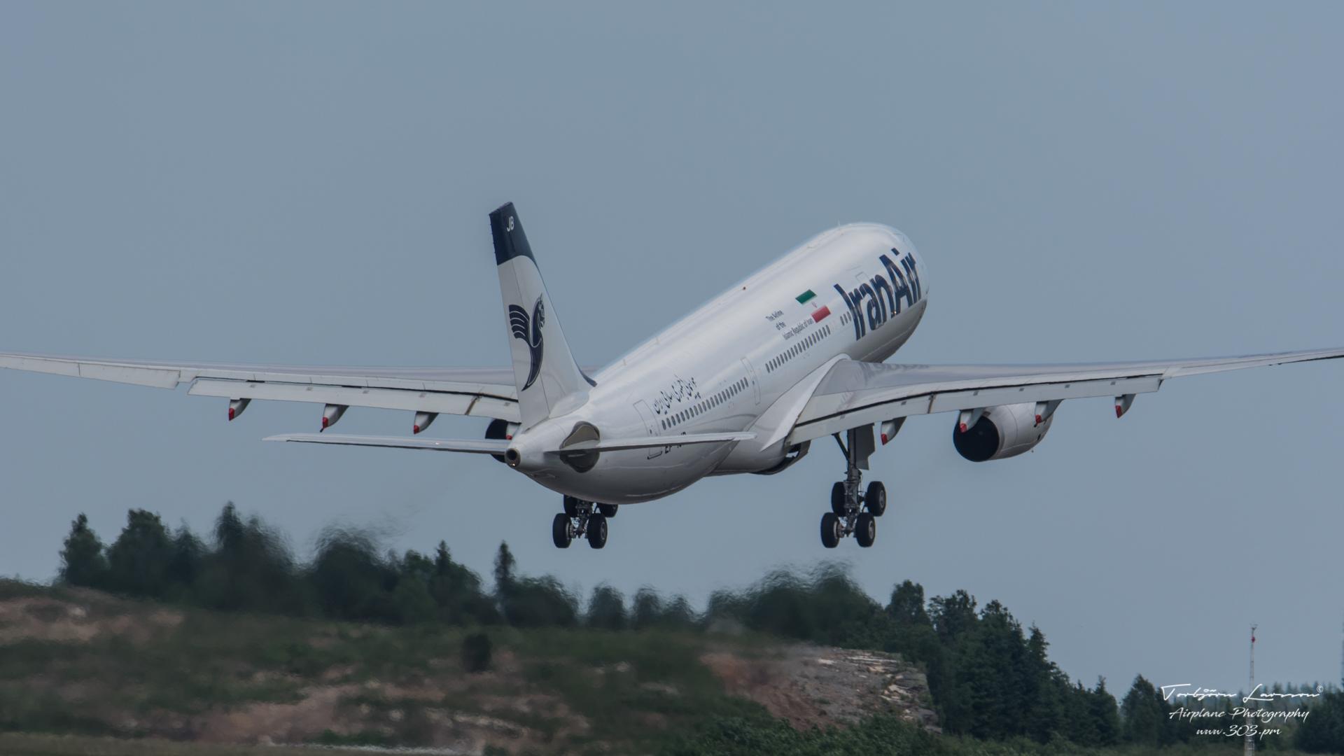 TBE_8649-Airbus A330-243 - Iran Air - (EP-IJB)