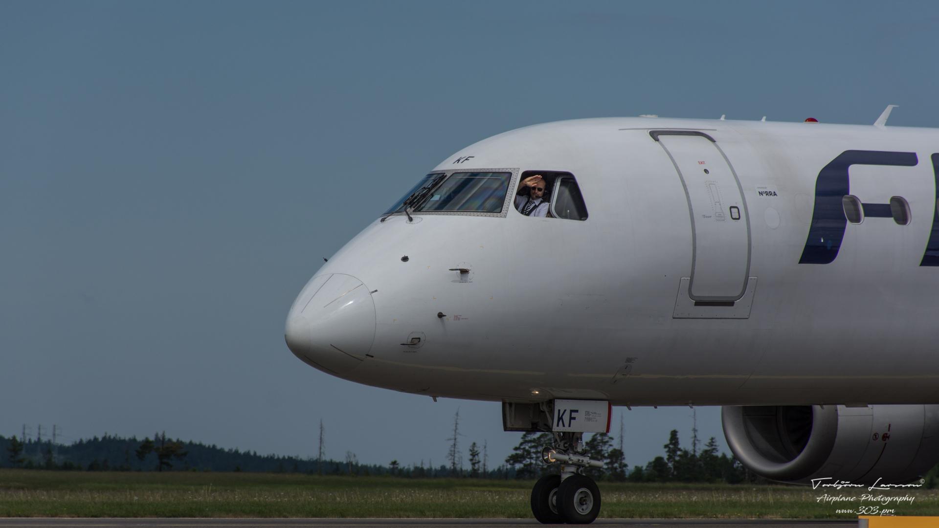 TBE_8763-Embraer Emb-190-100IGW - Finnair - (OH-LKF)