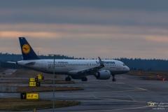 Airbus A320-271N(SL) (D-AINA) - Lufthansa - TBE_3436