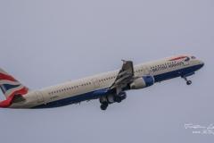 Airbus A321-231 (G-MEDL) - British Airways - TBE_3229