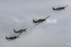 TBE_9479-Classic Warbirds (Vickers Supermarine Spitfire Mk. IX & XVI - North Amercian P-51D Mustang & Hawker Hurricane Mk1)