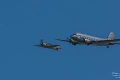 TBE_6910-Douglas DC-3 & Focke-Wulf FW-190A-8 - (D-FWSE)