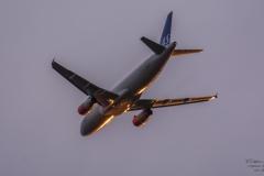 Airbus A320-232 - SAS (OY-KAT)