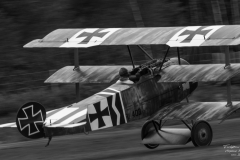 Mikael Carlsson in Fokker Dr.1
