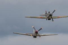 TBE_9653-Classic Warbirds (Vickers Supermarine Spitfire Mk. IX & XVI - North Amercian P-51D Mustang & Hawker Hurricane Mk1)