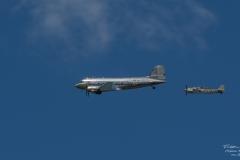 TBE_6921-Douglas DC-3 & Focke-Wulf FW-190A-8 - (D-FWSE)