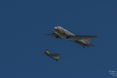 TBE_7020-Douglas DC-3 & Focke-Wulf FW-190A-8 - (D-FWSE)